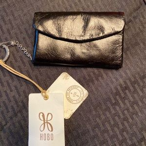 HOBO Lacey Black Wallet